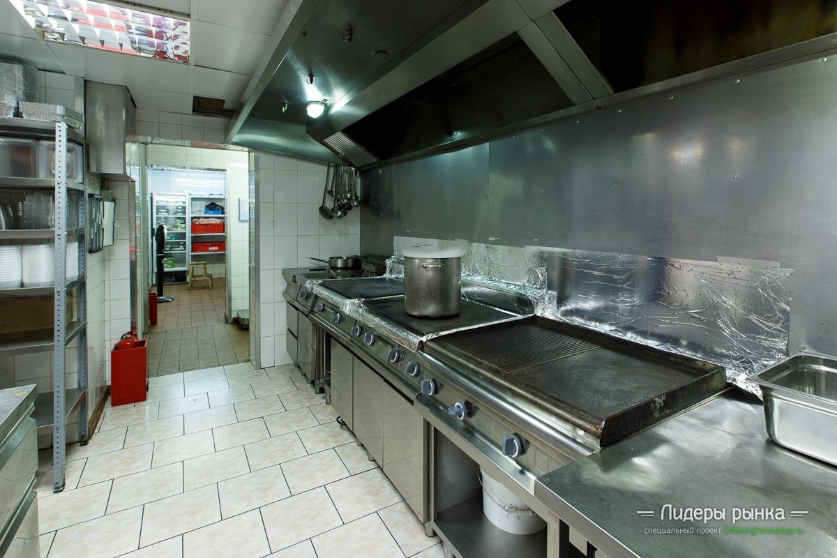 Производство Novikov Catering