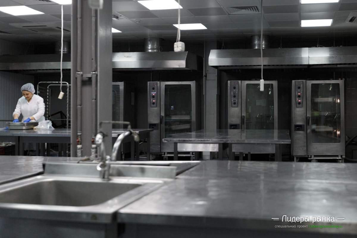 Производство Dellos Catering